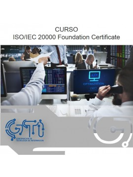 ISO/IEC 20000 Foundation Certificate