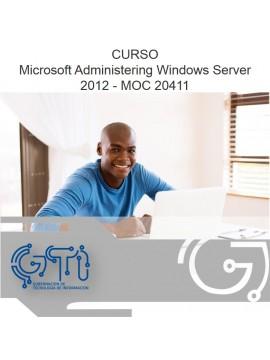 Microsoft Administering Windows Server 2012 - MOC 20411