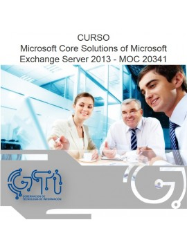 Microsoft Core Solutions of Microsoft Exchange Server 2013 - MOC 20341