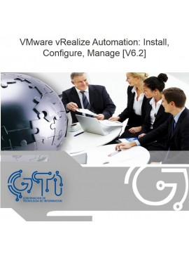 VMware vRealize Automation: Install, Configure, Manage [V6.2]