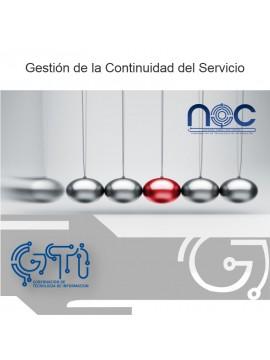 Gestión de la Continuidad del Servicio