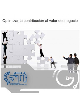 Optimizar la contribución al valor del negocio