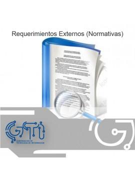 Requerimientos Externos (Normativas)