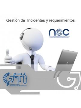 Gestión de  Incidentes y requerimientos