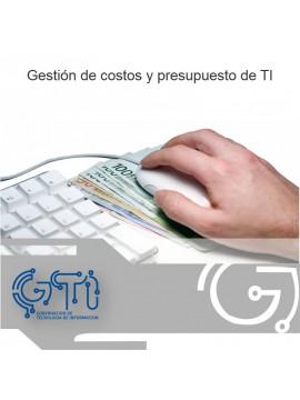 Gestión de costos y presupuesto de TI